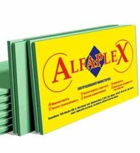 ЭКСТРУДИРОВАННЫЙ ПЕНОПОЛИСТИРОЛ АЛЬФАПЛЕКС (ALFAPLEX XPS)