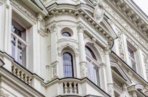 Пенополистирольный фасад