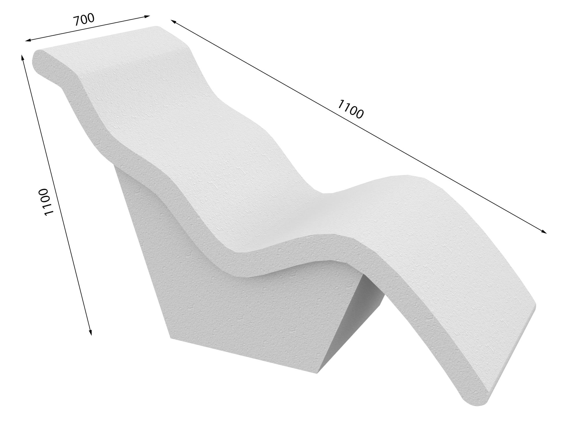 Лежак в хамам № 4