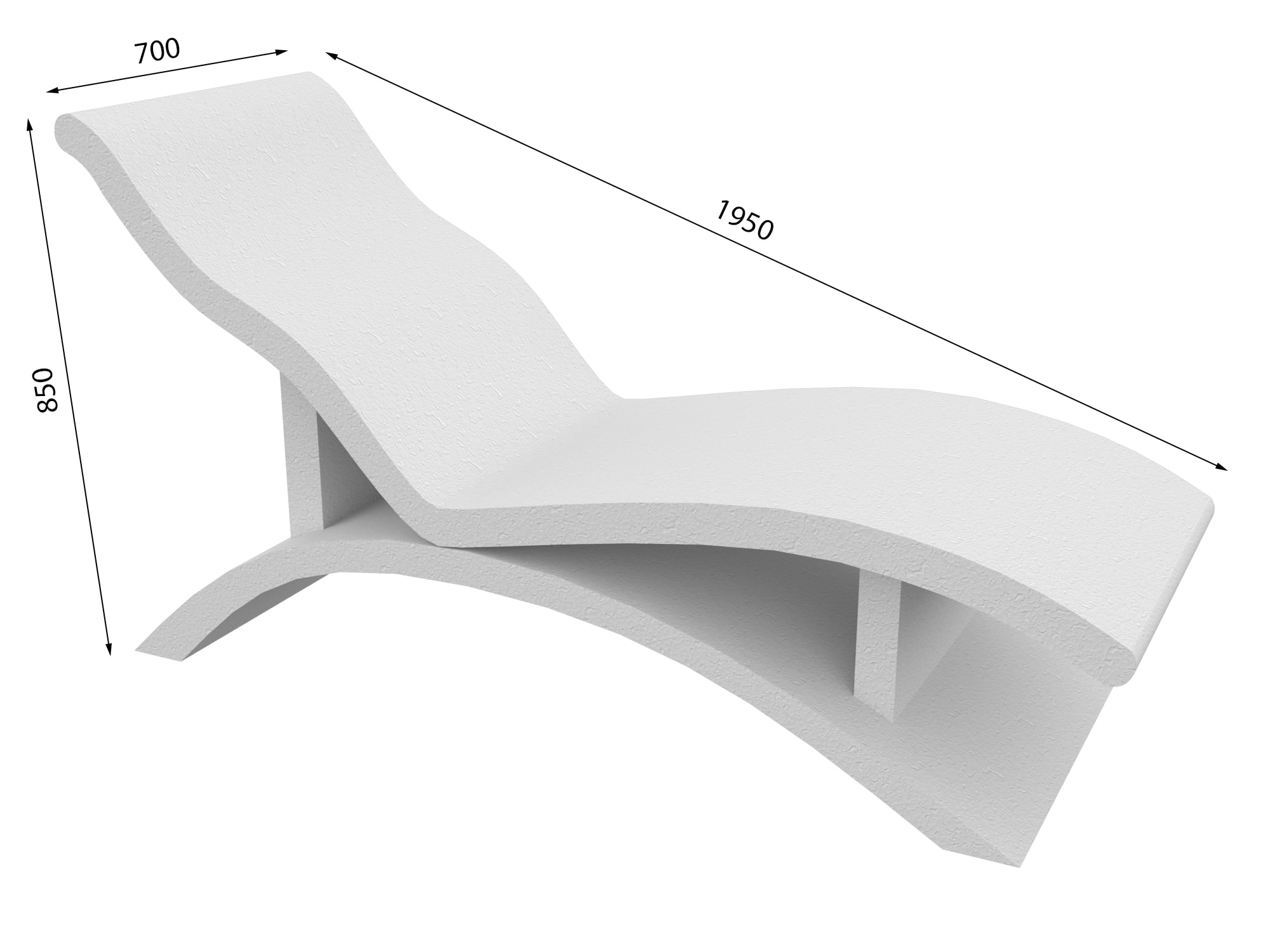 Лежак в хамам № 5