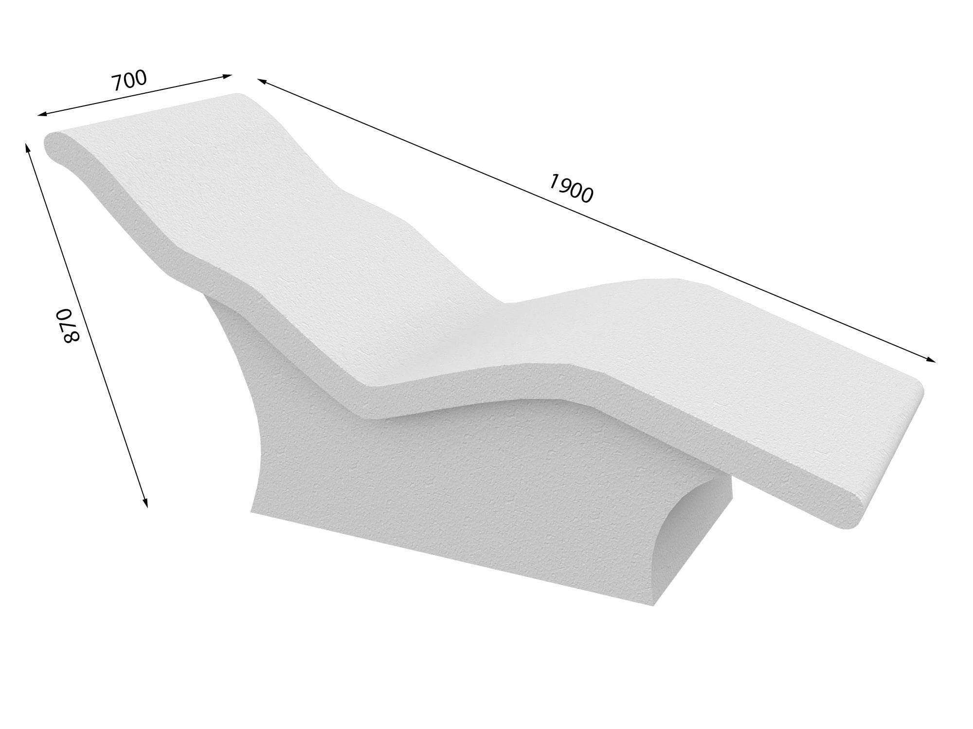 Лежак в хамам № 7