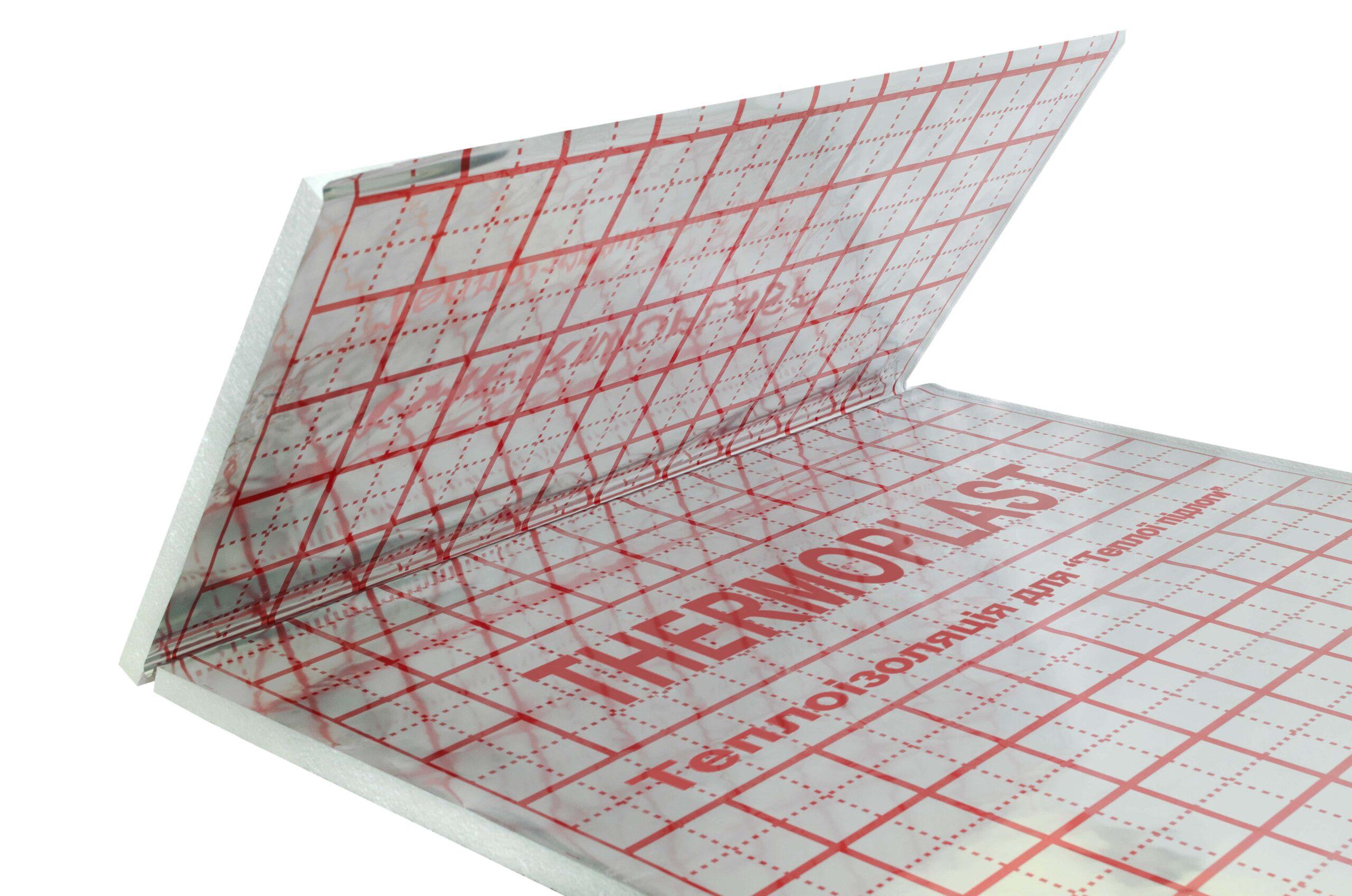 Мат EPS 80 Фольгована плівка 50мм
