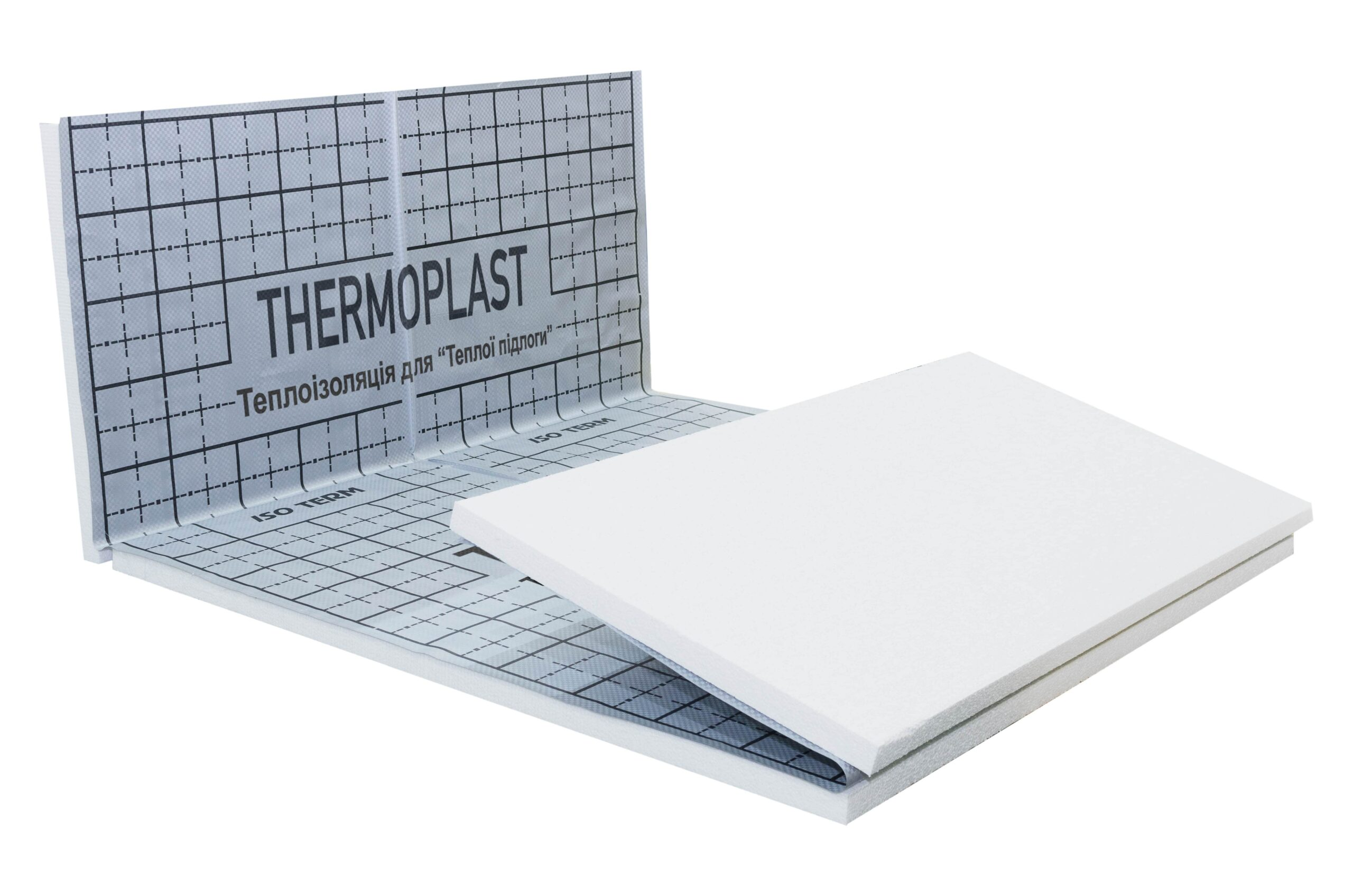 Маты для теплого пола EPS 80 ППЕ ткань